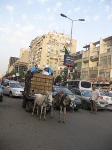 Straße im Stadtteil Dokki, Unterschiede überall. CC by Mali -NC-ND 3.0