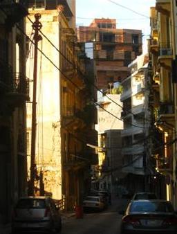 Beirut street Achrafieh