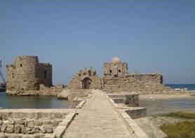 Lebanon Sea Castle Sidon