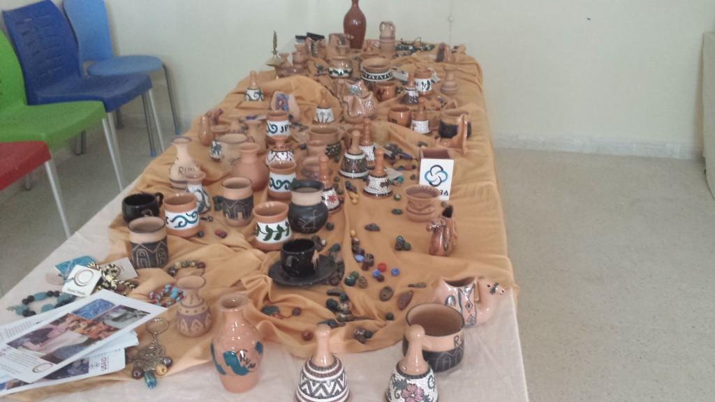 Keramik aus der Dise Woman Cooperation