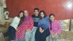 Mit einem Teil meiner Gastfamilie