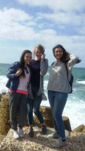 Johanna mit ihren Kolleginnen in Alexandria