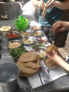 Typisches ägyptisches Frühstück