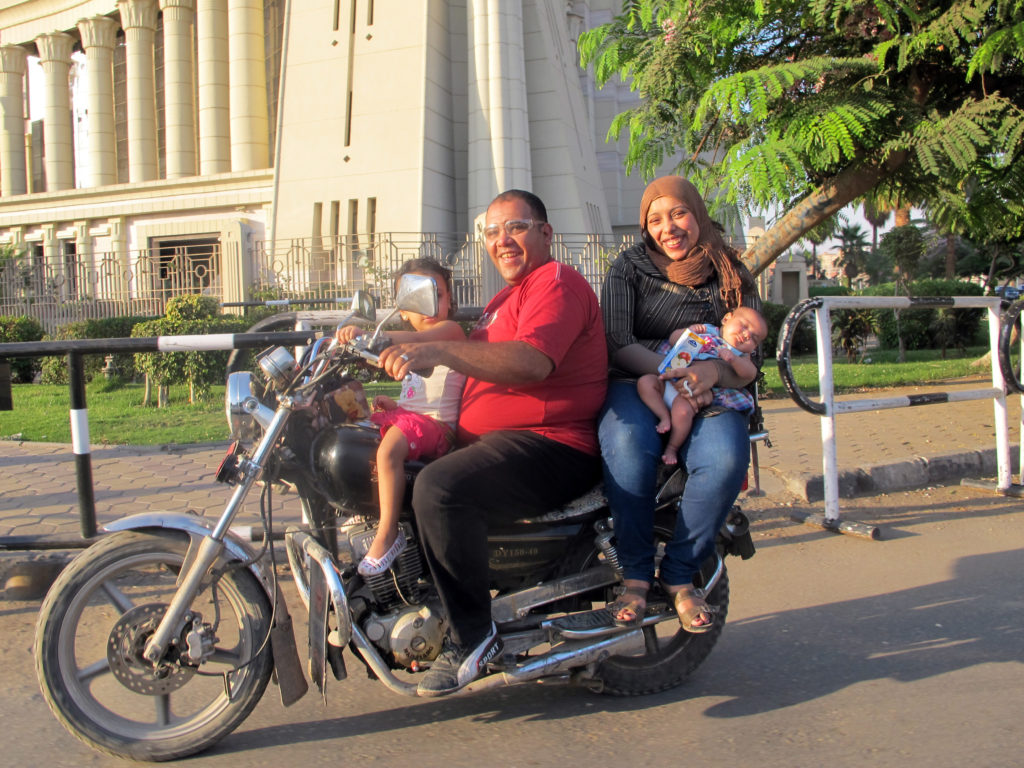 Cairo Drive_Family motorcycle